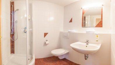 Dusche Standat-Doppelzimmer