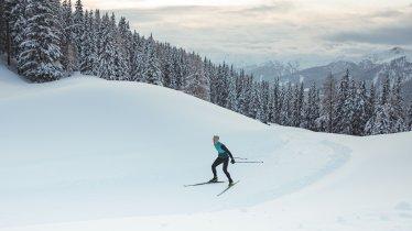 Langlaufen in Obertilliach, © Tirol Werbung / Katharina Poblotzki