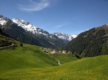 Kaisers Lechtal Sommer Ort