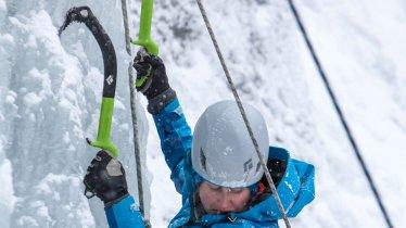 Eisklettern in Tirol, © TVB Pitztal
