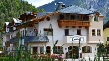 Hotel Central im Sommer, © Hotel Central