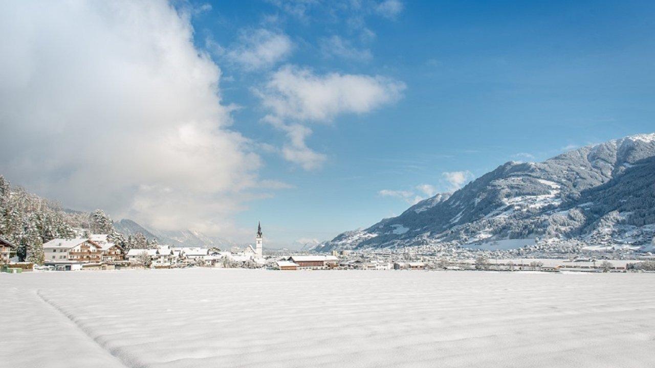 Vomp im Winter, © Silberregion Karwendel