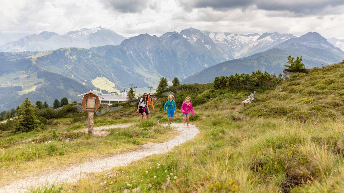 Familienwanderung in der Zillertal Arena, © Zell-Gerlos, Zillertal Arena