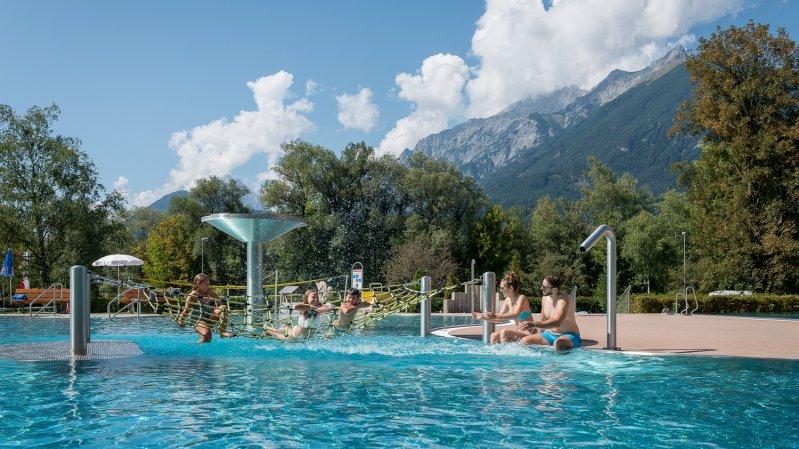Schwimmbad Schwaz, © TVB Silberregion Karwendel