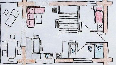 Chalets Erdgeschoss