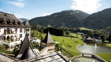 Resortansicht Blick Golfhaus, © A-ROSA Kitzbühel