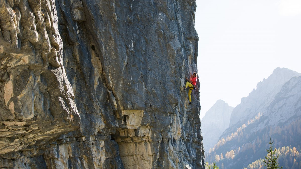 Klettergarten Dolomitenhütte, © Alpsolut