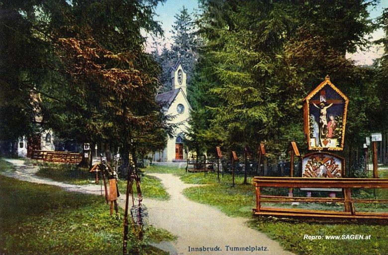 Tummelplatz Innsbruck, Foto: Bildarchiv SAGEN.at