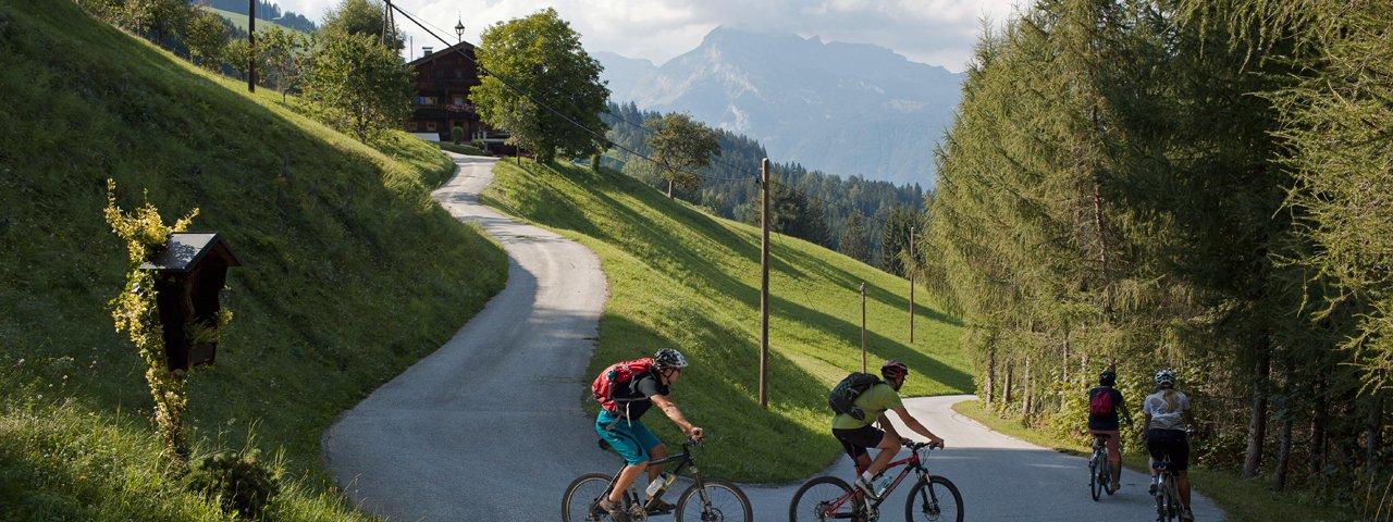 Mountainbiken im Alpbachtal, © Tirol Werbung/Alexander Ziegler