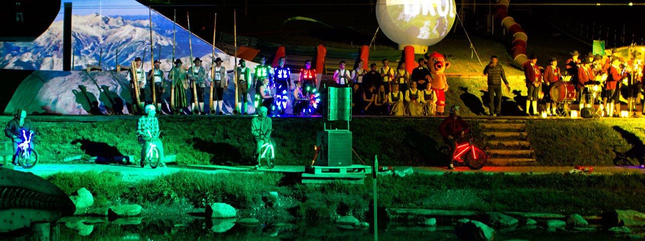Highlight der Erlebnisnacht ist das Bühnenprogramm auf der Möseralm, © Andreas Kirschner - www.webart.at