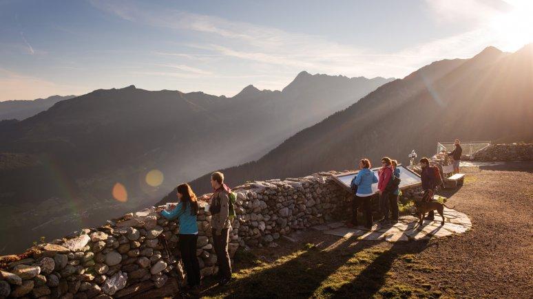 Sonnenaufgang am Ahornplateau Mayrhofen, © Mayrhofner Bergbahnen