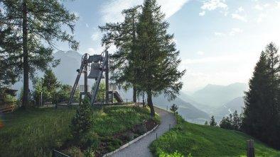 Blick auf die Friedensglocke in Mösern, © Olympiaregion Seefeld - S.Elsler