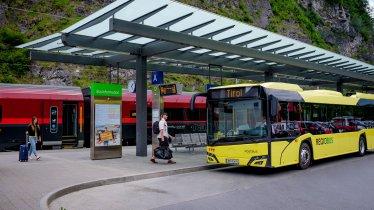 Öffentliche Verkehrsmittel in Tirol, © Tirol Werbung/Gerhard Berger