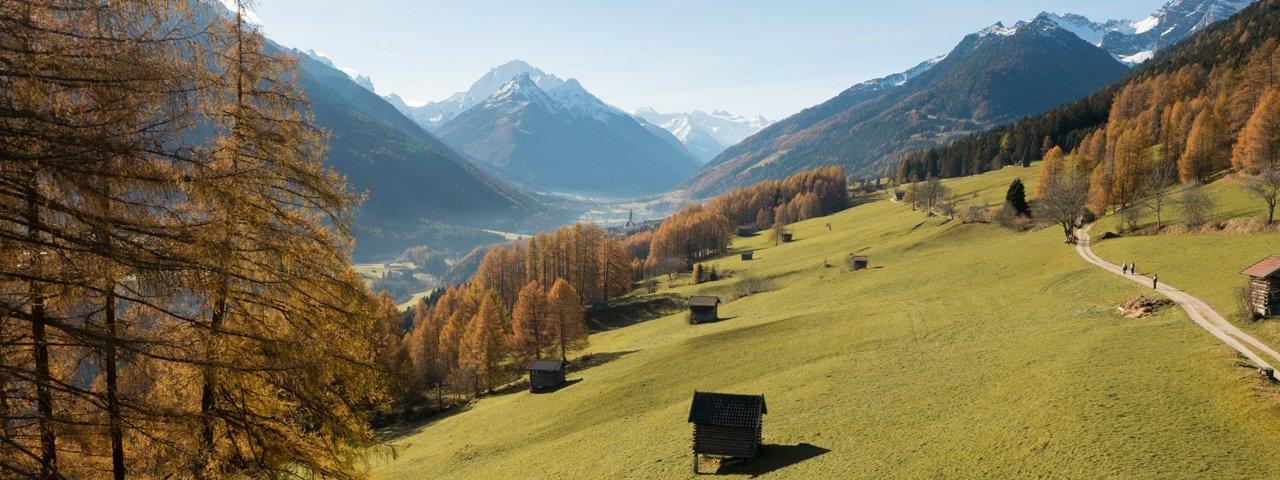 Telfer Wiesen im Stubaital, © Tirol Werbung/W9 studios