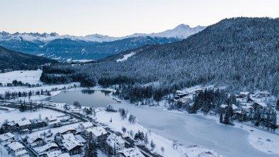 Blick auf den Wildsee in Seefeld, © Olympiaregion Seefeld