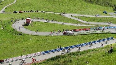 Auf den letzten Metern wird's knackig: Der Schlussanstieg am Kitzbüheler Horn, © Kitzbühel Tourismus