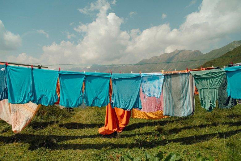 Wäsche auf der Starkenburger Hütte. , © Tirol Werbung