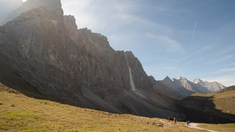Laliderer Wände im Naturpark Karwendel, © Tirol Werbung/Peter Umfahrer