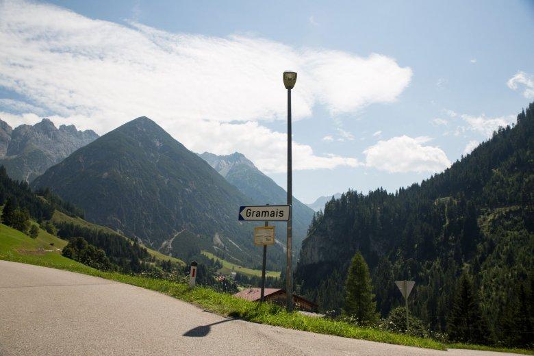 Die Gemeinde Gramais im Lechtal trägt den einmaligen Titel: kleinste Gemeinde Österreichs.