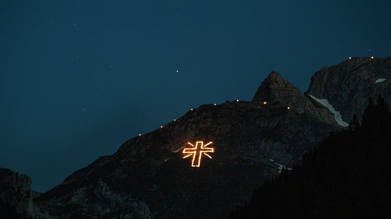 Herz-Jesu-Feuer in Kartitsch, © TVB Osttirol/Cis André