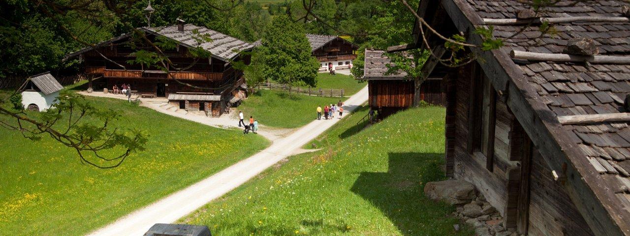 Ausflugsziele in Alpbach, © Alpbachtal Tourismus / Museum Tiroler Bauernhöfe
