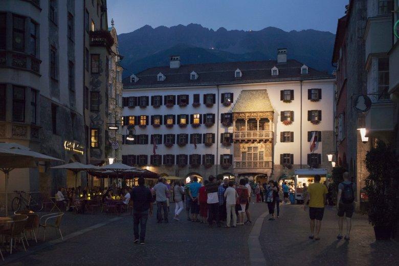 DasGoldene Dachl in Innsbruck.