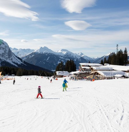Skigebiet Ehrwalder Almbahn, © Tirol Werbung/Lisa Hörterer