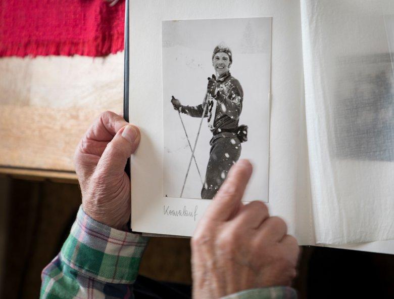Franz Puckls Fotoalbum. Foto: Axel Springer