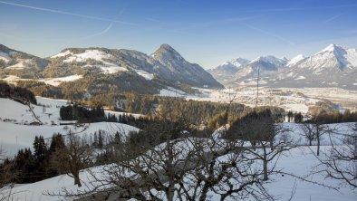 Ausblick vom Pinzgerhof im Winter, © Fam. Kammerlander