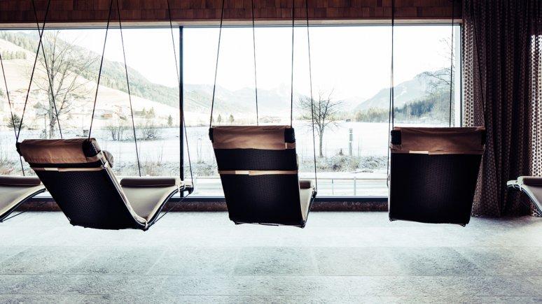 Ruheraum im Biohotel Bergzeit, © Daniel Zangerl
