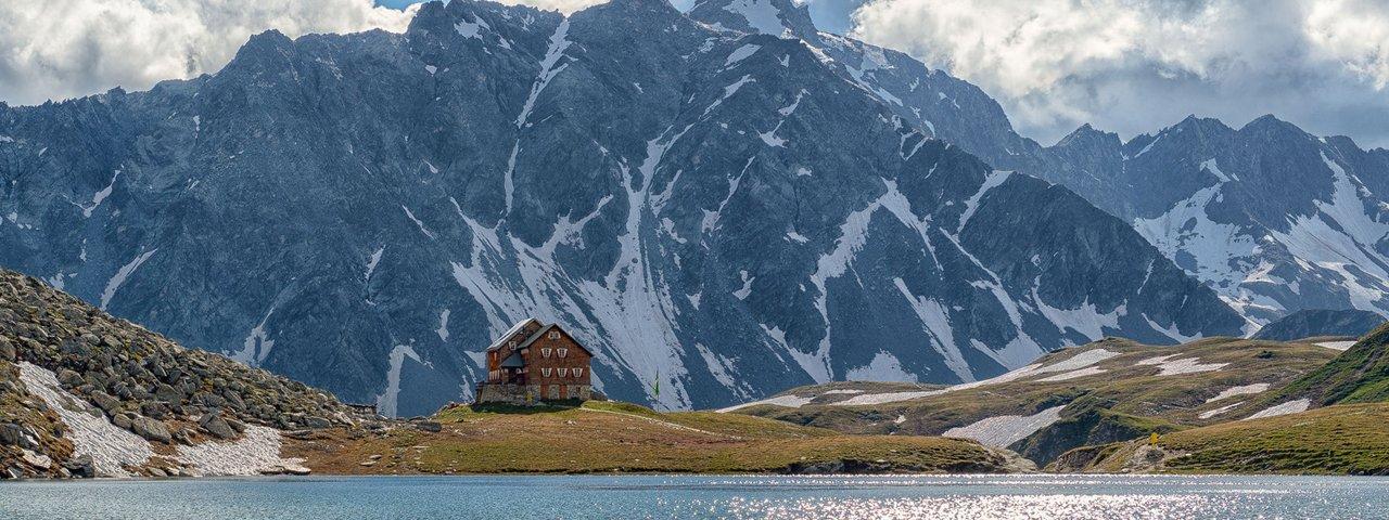 Der Bödensee am Fuße der Neuen Reichenbergerhütte, © TVB Osttirol / Nationalpark Hohe Tauern / Johannes Geyer
