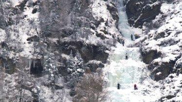Eisklettern am Bafflfall im Sellraintal, © Climbers Paradise