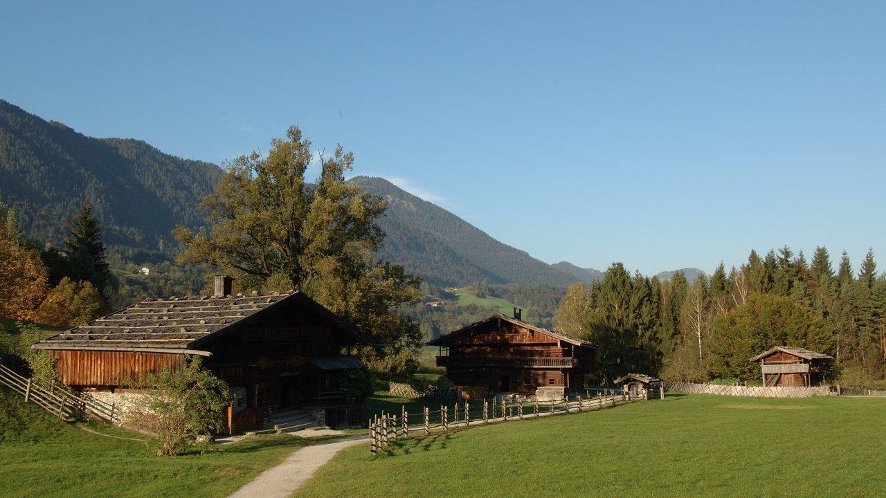 Museum Tiroler Bauernhöfe im Herbst, © Alpbachtal Tourismus