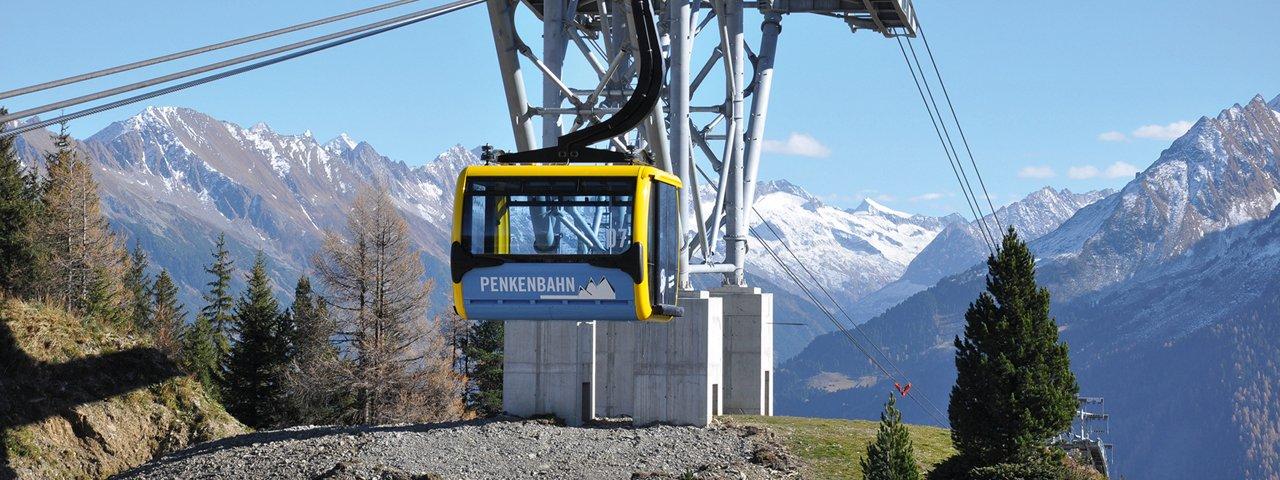 Penkenbahn in Mayrhofen, © Mayrhofner Bergbahnen