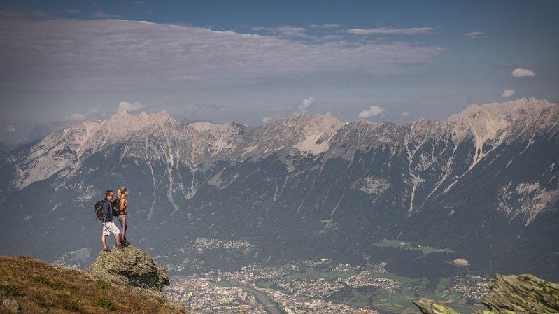 Blick vom Glungezer-Gipfel, © TVB Hall-Wattens