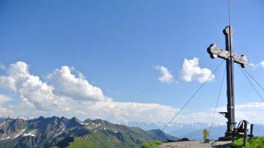 Am Gipfel des Wiedersberger Horns, © Alpbachtal Seenland Tourismus / Wegscheider Eva