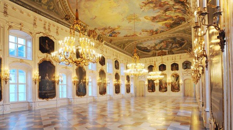 Festsaal in der Kaiserlichen Hofburg Innsbruck, © Tirol Werbung/Aichner Bernhard