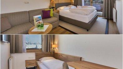 Familienzimmer im 3. Stock, © Hotel Hochfilzer GmbH