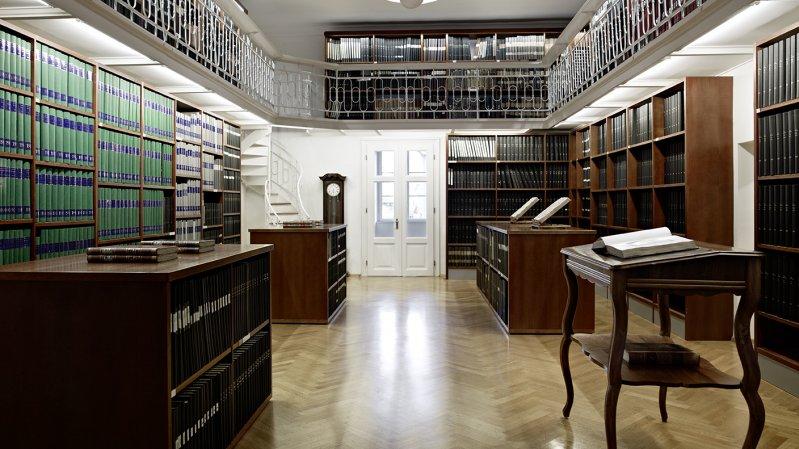 Bibliothek im Ferdinandeum, © Tiroler Landesmuseen