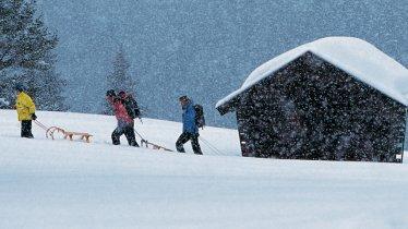 Rodeln in Tirol, © Tirol Werbung / Bernd Ritschel