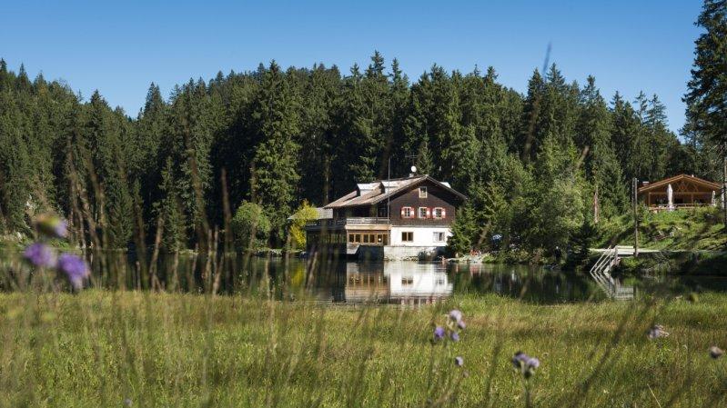 Frauensee, © Naturparkregion Reutte