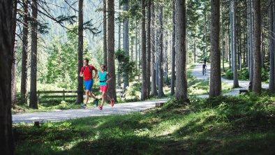 Laufen in Reith im Wald, © Olympiaregion Seefeld - Stephan Elsler