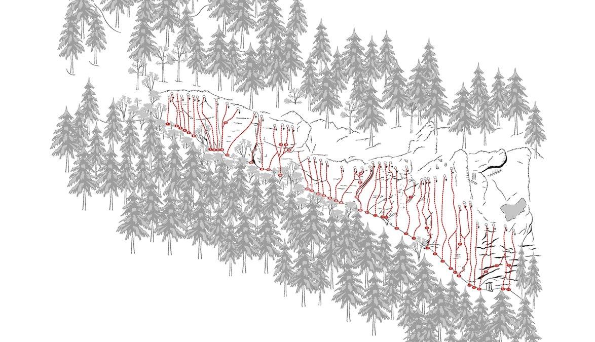 Topo Schleierwasserfall