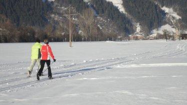 Piste de ski de fond partant directement de notre ferme