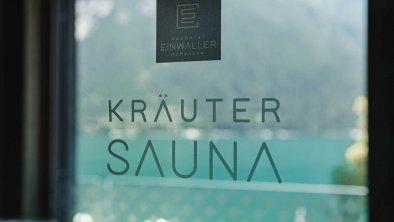 Kräutersauna, © Seehotel Einwaller