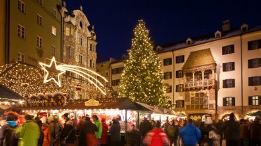 Christkindlmarkt in der Innsbrucker Altstadt, © TVB Innsbruck/Christof Lackner