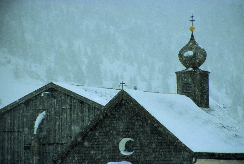 Kappelle in Tschafein