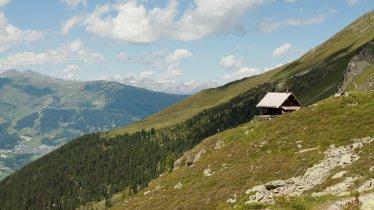 Blick auf die Anton-Renk-Hütte, © Tirol Werbung/Eva Thöni