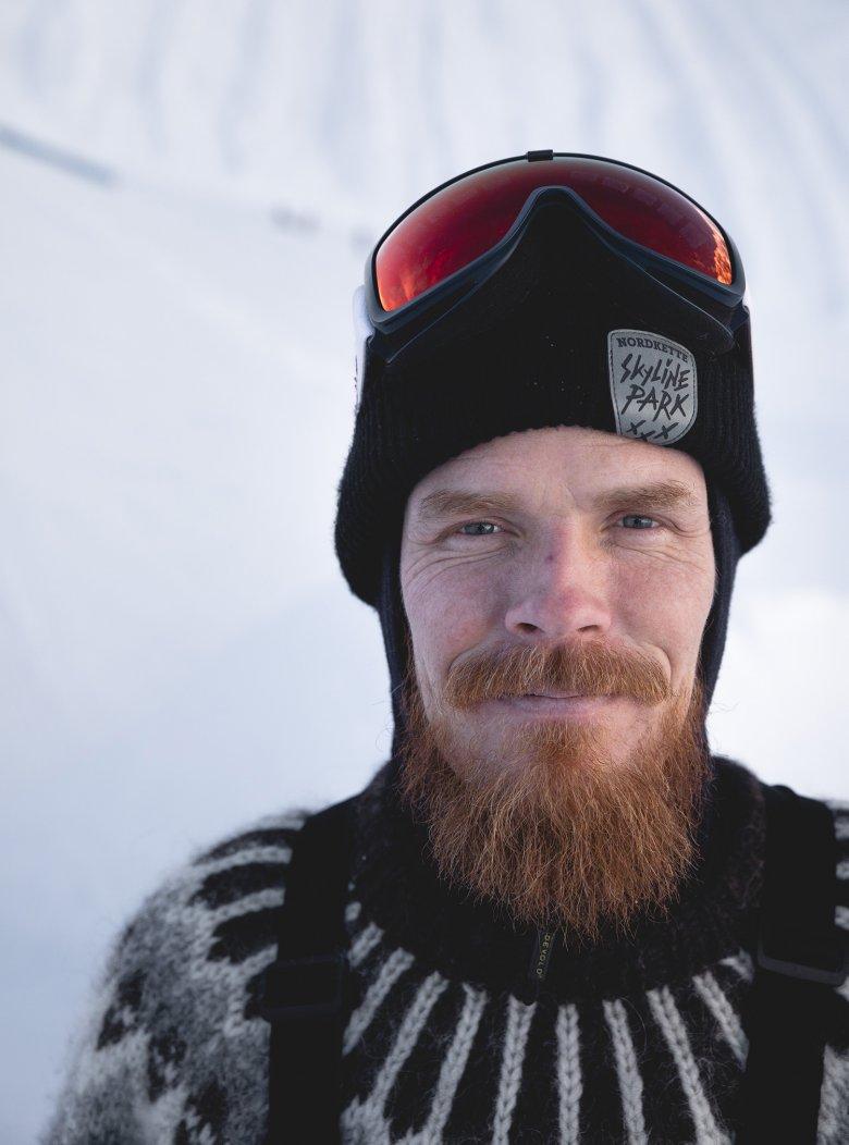 Der sympathische Isländer lebt seit über 20 Jahren in Tirol.