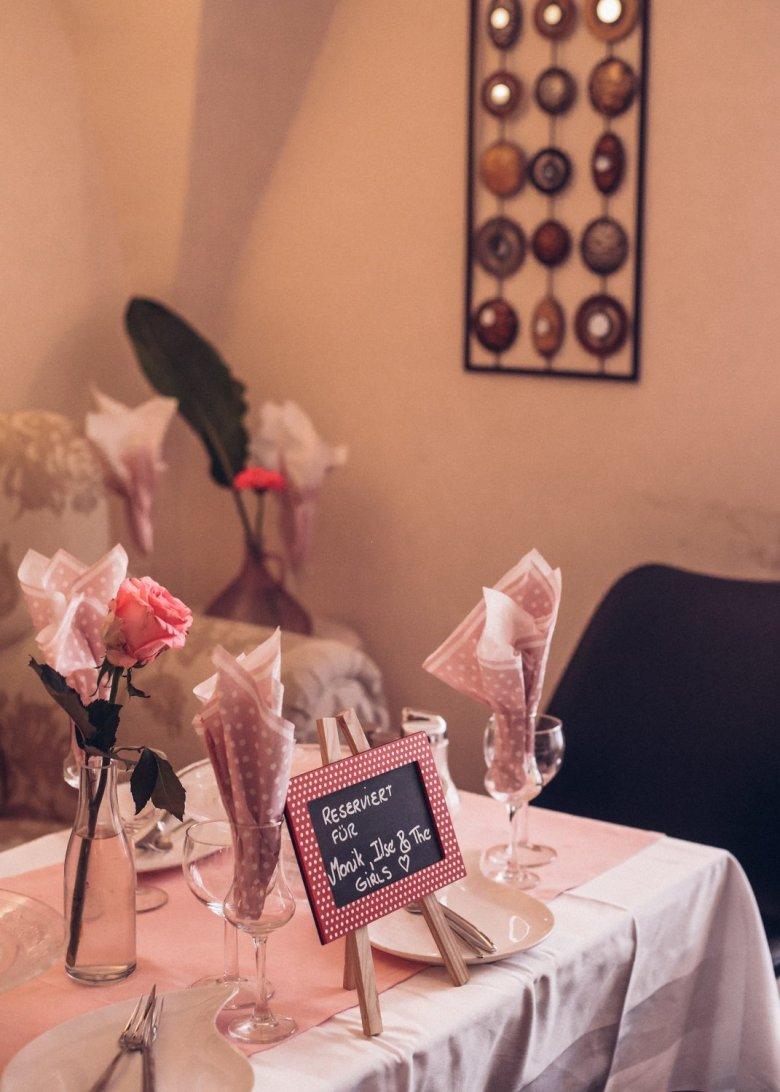In Lizettes Café ist die Welt rosarot.